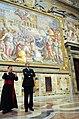 Secretary Kerry Views Artwork During a Tour of the Vatican (11948669073).jpg