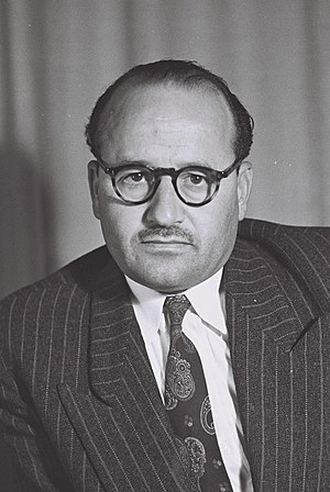 Arab citizens of Israel - Seif el-Din el-Zubi, member of the first Knesset
