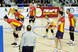 numero de jugadores en equipo de voleibol