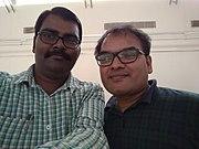 Selfi of Rahimanuddin Shaik with Arun Vemuri.jpg