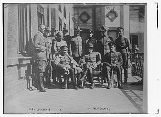 William S. Graves - Graves and Grigory Semyonov in 1918