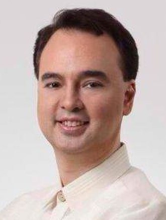 Taguig - Image: Senator Alan Peter S. Cayetano (cropped)