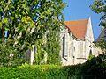 Senlis (60), ancienne église St-Aignan, vue depuis la place aux Veaux.jpg