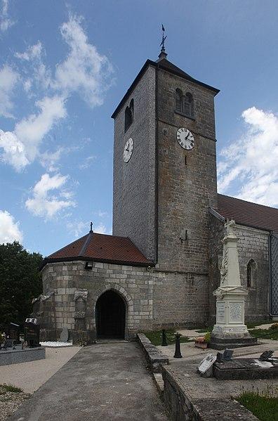 Église de Septfontaines (Doubs).
