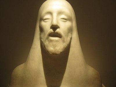A marble sculpture