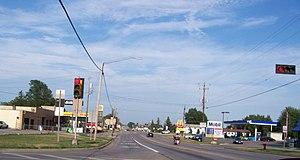 Seymour, Wisconsin - Looking east