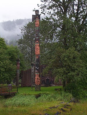 National Register of Historic Places listings in Wrangell, Alaska - Image: Shakes Island