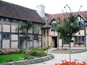 Levi Fox - Image: Shakespeare's birthplace Stratford upon Avon 3Sept 2006