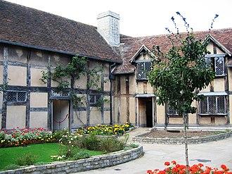 Levi Fox - Image: Shakespeare's birthplace Stratford upon Avon 3Sept 2006