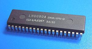 Sharp LH008A, a Zilog Z80 clone