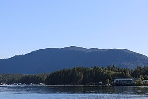 Shearwater, British Columbia - Entrance to Shearwater harbour