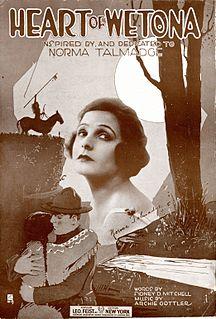 <i>The Heart of Wetona</i> 1919 film by Sidney Franklin