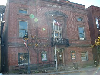 Shelburne, Massachusetts - Shelburne Memorial Hall