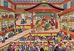 japansk teater kön