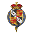 Shield of arms of Francis Seymour-Conway, 3rd Marquess of Hertford, KG, GCH, PC.png