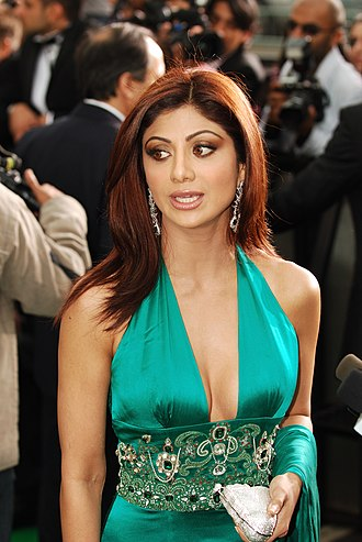 Shilpa Shetty - Shilpa at IIFA Awards 2007