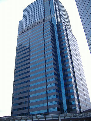 Daito Trust Construction - Daito Trust Construction company headquarters in the Shinagawa East One Tower.