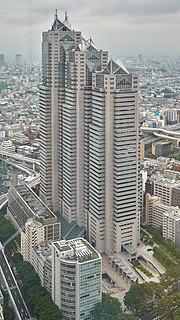 Shinjuku Park Tower building in Tokyo, Japan