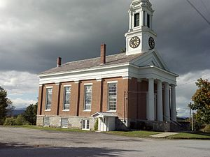 Shoreham, Vermont - Shoreham Congregational Church