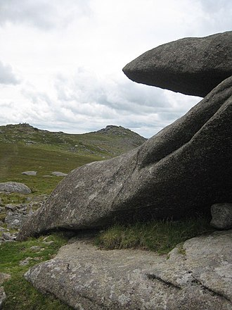 Showery Tor - Image: Showery Tor geograph.org.uk 924068