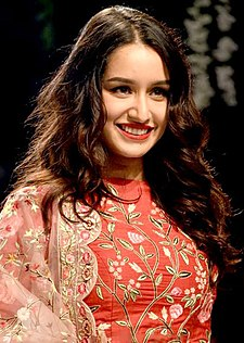 Shraddha Kapoor walks the ramp for Rahul Mishra at Lakme Fashion Week 2017.jpg