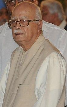 Shri LK Advani, em uma festa Iftar, apresentado por ele, em Nova Deli em 16 de agosto de 2012 (cropped) .jpg