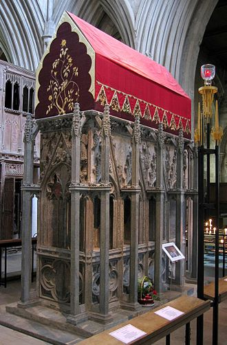 Calendar of saints (Anglican Church of Canada) - Shrine of Saint Alban, first British martyr, commemorated on June 22