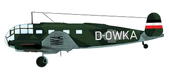 Kampfgeschwader 200 - Siebel Si 204D-1, D-OWKA, used by 2./KG 200 in support of Albert Speer's peace negotiations in April 1945. The aircraft flew between Prague and Zurich. And in support of Karl Hermann Frank´s negotiations with Karl Dönitz government, he flew it between Prague and Flensburg-Mürwick and Hradec Králové in May 1945. Apparently changed its markings daily.