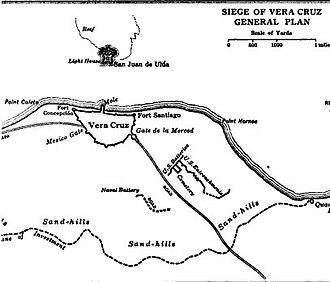 Siege of Veracruz - Image: Siege of Vera Cruz