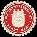 Siegelmarke Bürgermeister-Amt Stadt Kirn W0313642.jpg