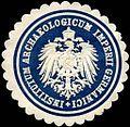Siegelmarke Institutum Archaeologicum Impertei Germanici W0225579.jpg