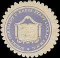 Siegelmarke Siegel der Haupt und Kreys-Stadt Luckau-Lausitz W0393493.jpg
