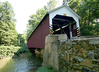 Siegrists Mill Covered Bridge
