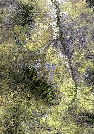 Sierra Vista, Arizona - Geography surrounding Sierra Vista