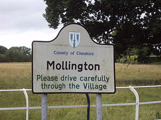 Mollington, Cheshire Human settlement in England