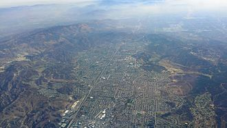 Simi Valley, California - Aerial view of Simi Valley in 2014