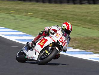Coriano - Marco Simoncelli at the 2011 Australian Grand Prix at Phillip Island