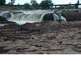 Sioux Quartzite - Sioux Quartzite at Sioux Falls, South Dakota
