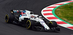 Sirotkin Williams FW41 Testing Barcelona.jpg