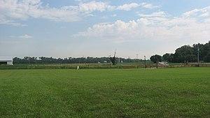Siege of Dunlap's Station - Site of Fort Dunlap