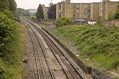 Site of station platforms at Harlesden Midland Railway Station.jpg