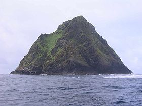 Skellig Michael en provenance de Portmagee