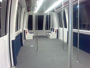DFW Skylink - Image: Skylink APM Interior