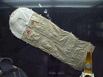 Sleeping bag - Russian sleeping bag used in space station Mir and International Space Station