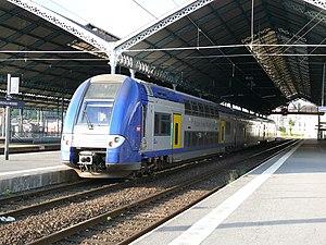 SNCF train Z 24524 of the TER Nord-Pas-de-Cala...