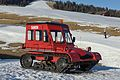 Snow vehicle Snow Trac 4 on Alpe di Siusi Seiseralm.jpg