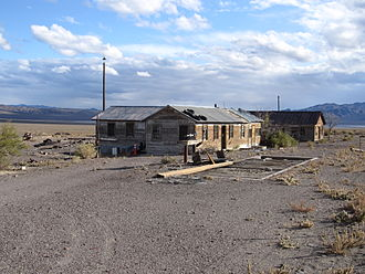 Mina, Nevada - Sodaville, a ghost town 2 miles south of Mina
