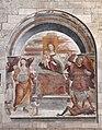 Sodoma, Madonna col Bambino, gli arcangeli michele e Raffaele, e un donatore, 01.JPG