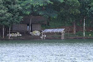 Parambikulam Tiger Reserve - Solar Panels at Bamboo Grove, Parambikulam Tiger Reserve
