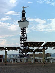 Solar power tower - Wikipedia, the free encyclopedia